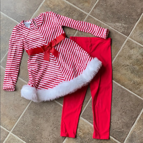 Bonnie Jean Christmas Outfits.Bonnie Jean Christmas Outfit Size 6x